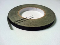 9mm 30M Black Cloth Black Glue Adhesive Acetate Tape Insulating For Laptop GPS Tablet Phone