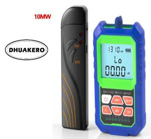 free shipping AB20C mini FTTH Fiber Optical Power Meter with usb rechargeable RJ45 tester LED and 10mw visual fault locator