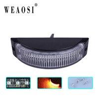 XN 8A 12v Surface flush grille mount lighthead led Oval Amber Strobe Light for all cars