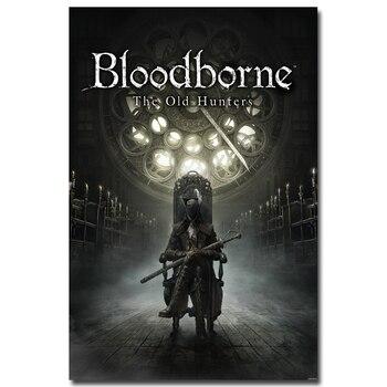 Шелковый плакат гобелен игра Bloodborne
