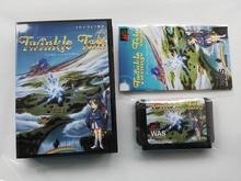 MD เกม: Twinkle Tale (ญี่ปุ่นรุ่น!! กล่อง + คู่มือ + cartridge!!)