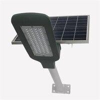 6 шт. 50 Вт уличный свет автоматический Управление для парки дорог квадраты IP65 солнечной энергии остров лампионе solare с дистанционным управле