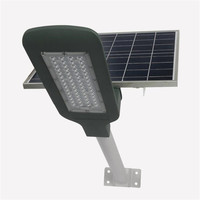 6pcs 50W led street light Automatic Control For parks roads squares IP65 solar power lampione solare With remote control