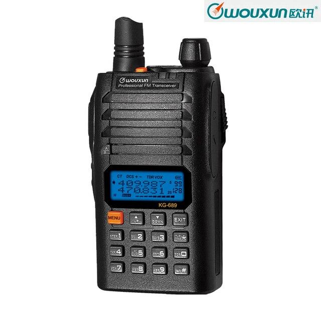 New WOUXUN KG-689C2 400-470MHz UHF Radio Communication Equipment Two Way Radio