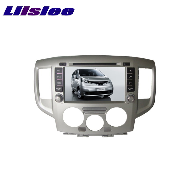 For Nissan NV200 2009~2017 LiisLee Car Multimedia TV DVD GPS Audio Hi-Fi Radio Original Style Navigation Advanced NAV