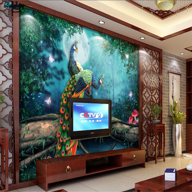 Art Painting Bedroom Fantasy Forest Home Wall Decoration 5D Diamond Three-Dimensional Painting Hall Decoration Painting