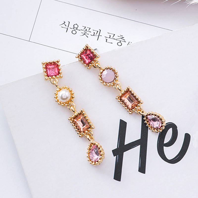 Luxury-Multicolor-Rhinestone-Charm-Pearl-Long-Earrings-New-Fashion-Statement-Drop-Dangle-Earring-Jewelry-For-Women