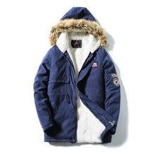 M-5XL 2016 hooded fur Winter Casual Thermal Parka Men Slim Fit Winter Jacket Men Winter Coat Men Parka Homme