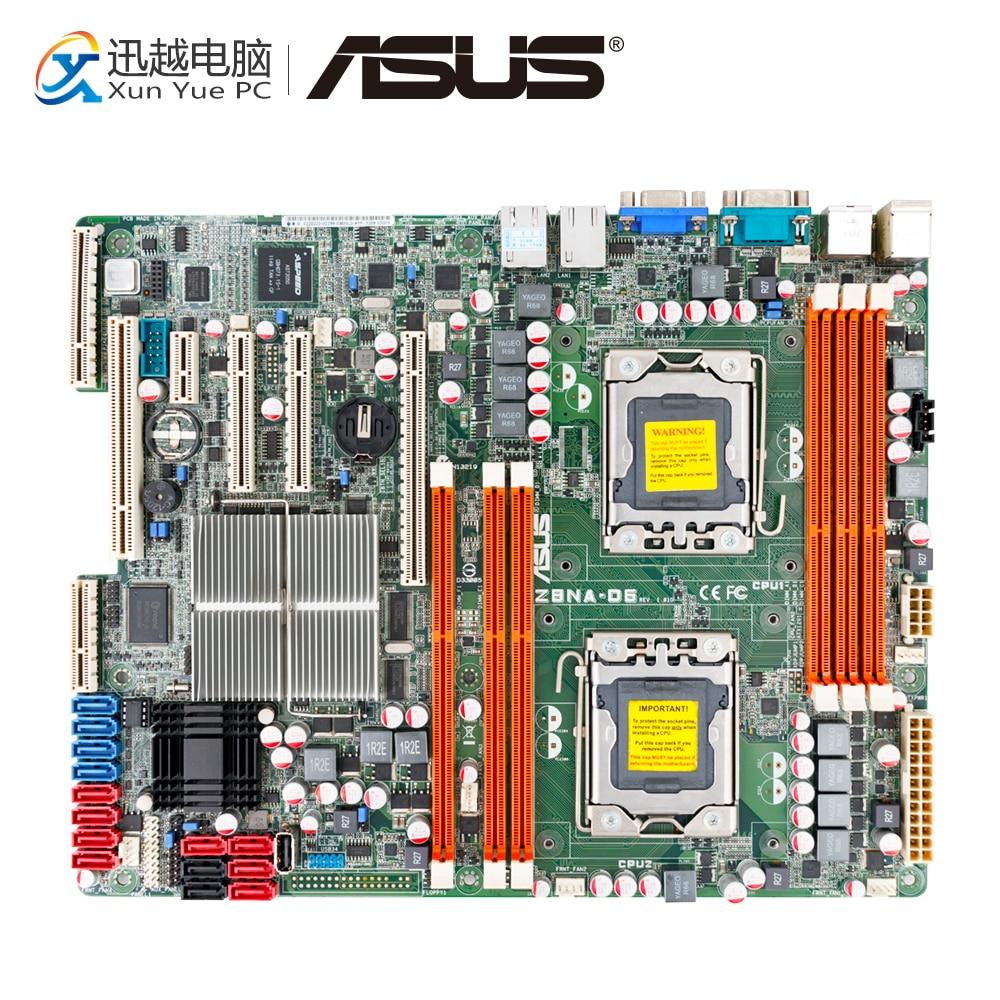 Asus Z8NA D6 Server/Desktop Motherboard 5500 Socket LGA 1366 i7 DDR3 32/48G SATA2 Micro ATX