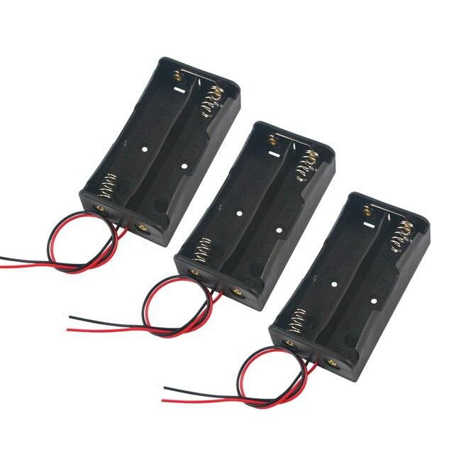 Kebidumei 2017 Hot Sale Battery Storage Case Plastic for 2 x 18650 ...