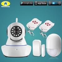 Intelligent Wireless Door Gap PIR Detector WiFi 720P IP Camera For Home Security Alarm System Camera