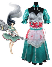 Alice Madness Returns Siren Anime Cosplay Por Encargo Vestido