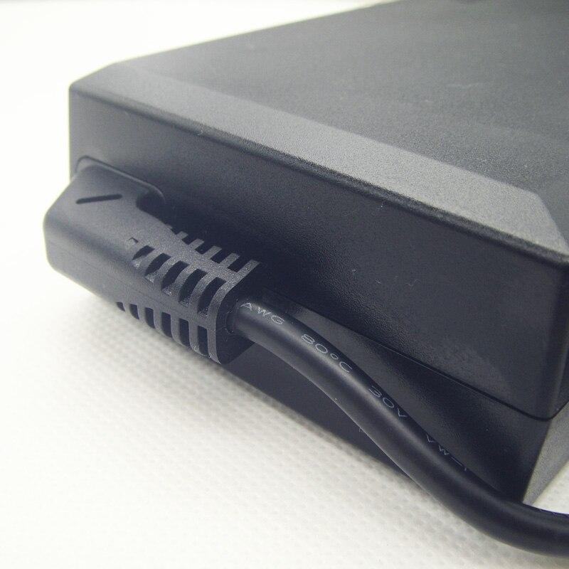 Натуральная 19.5 В 12.3a 120 Вт адаптер переменного тока Питание Для Delta/flextronics/DELL M6500 M6600 M6700 M4700 m4800 адаптеры питания для ноутбука Зарядное устройст... - 5
