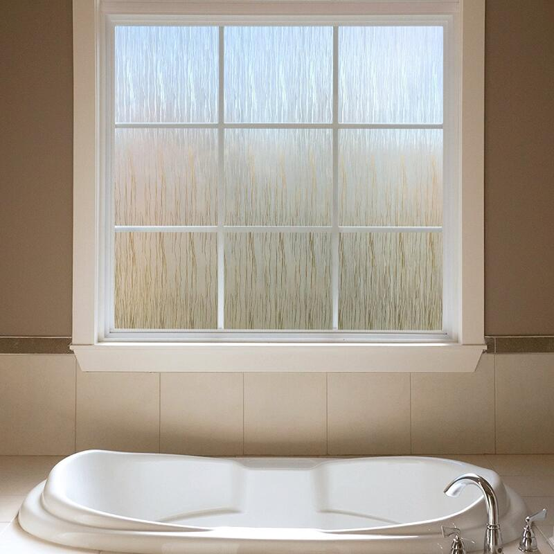 90*100 см, без клея, непрозрачная, уединенная, декоративная, стеклянная оконная пленка, статическая, цепляется, самоклеющаяся, оконная наклейка