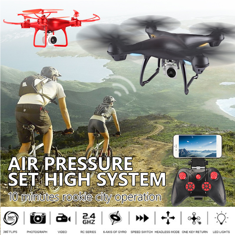 2.4GHz 4 Channel WIFI Drone 2MP HD camera 6-Axis Gyro Aircraft UAV Drone Headless Mode APP Control Quadcopter Aircraft yizhan i8h 4axis professiona rc drone wifi fpv hd camera video remote control toys quadcopter helicopter aircraft plane toy