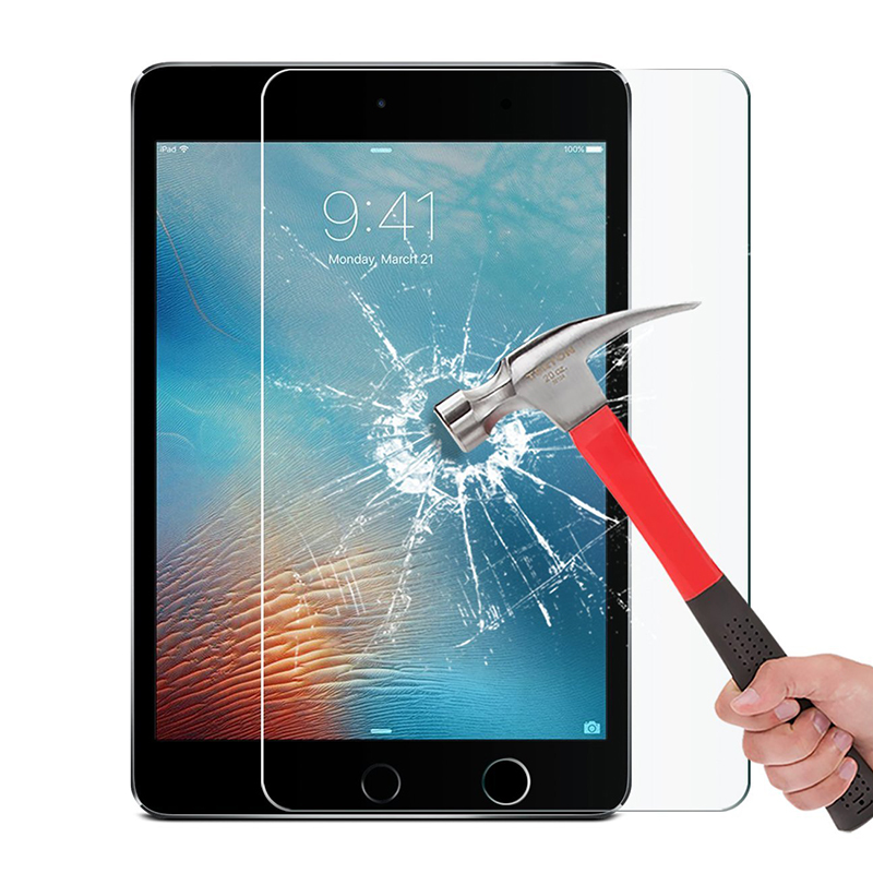 9H Screen Protector For IPad Mini 2 3 4 5 Tempered Glass Film Compatible For IPad Pro 11 10.5 Screen Protector For IPad Air 2