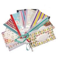 Bolsa de limpeza ecológica para bebês  fecho de limpeza fácil e portátil para cosméticos  saco de limpeza molhado