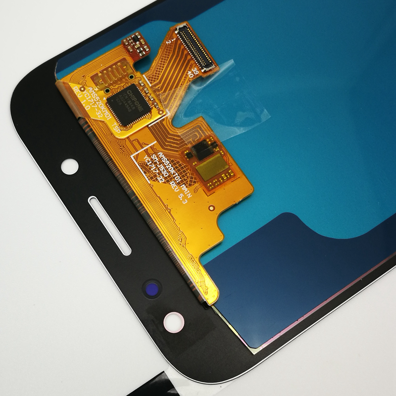 5.2 ''SUPER AMOLED pour SAMSUNG Galaxy J5 2017 J530 J530F LCD écran tactile numériseur assemblée pièces de rechange + autocollant - 4