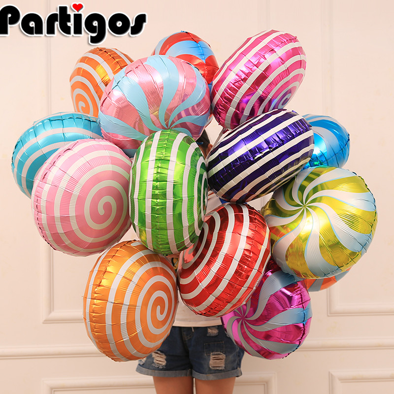 Party Wedding Supply Candy Color Helium Balloons AnnoDeel 12pcs 18 Fruit Balloons Birthday Foil Balloon