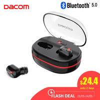 Dacom K6H Pro Bluetooth Earphone 5.0 Wireless Headphones Ear Buds TWS True Wireless Earbuds Earphones Mini Headset PK i30 Tws