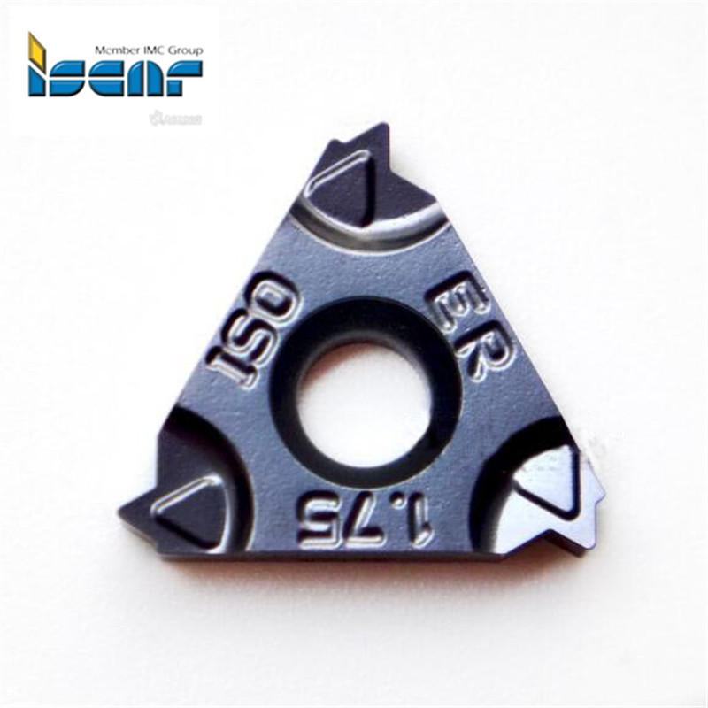 16ERM 1 00ISO IC908 original Iscar threading insert Indexable Tungsten Carbide Threading Lathe Inserts