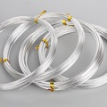 Silver Color 1mm/1.5mm/2.mm/2.5mm Anadized Aluminum Wire soft DIY jewelry craft versatile painted aluminium metal wire