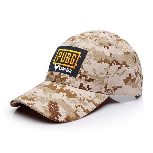 Playerunknown s Battlegrounds PUBG Chicken Dinner CAMO Hat HOOk LOOP  Baseball Cap 5e3a7ea7307