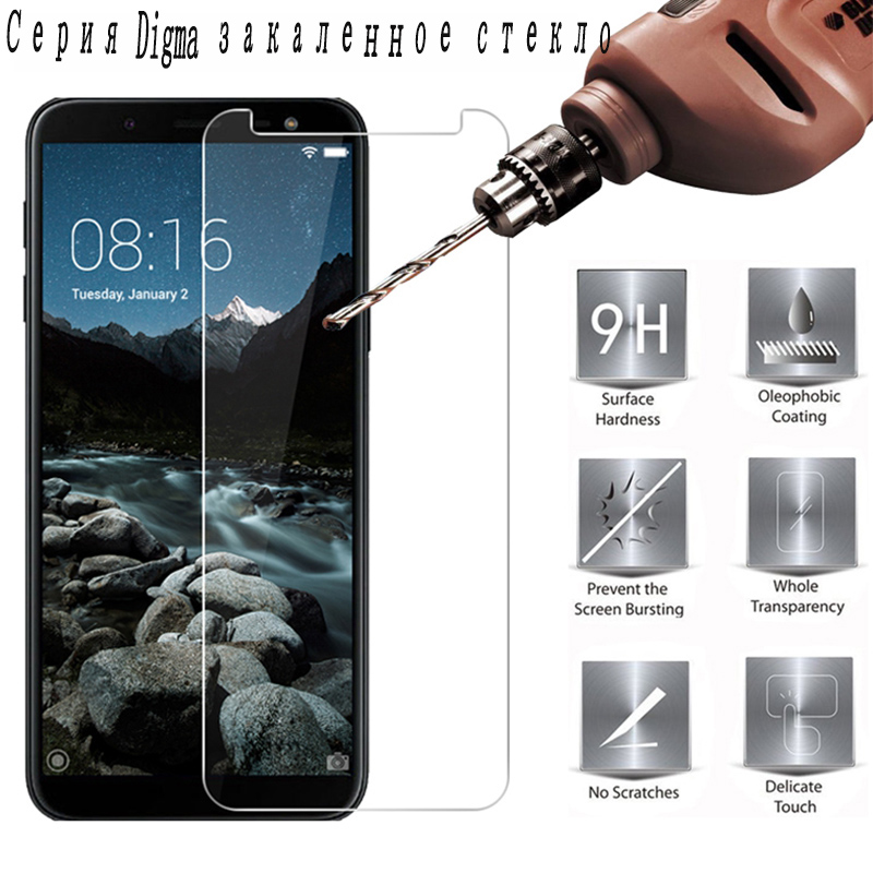 2PCS 9H Tempered Glass for <font><b>Digma</b></font> <font><b>LINX</b></font> A452 A500 <font><b>A501</b></font> C500 VOX S506 S507 S508 S509 S513 3G 4G Protective Film Screen Protector image