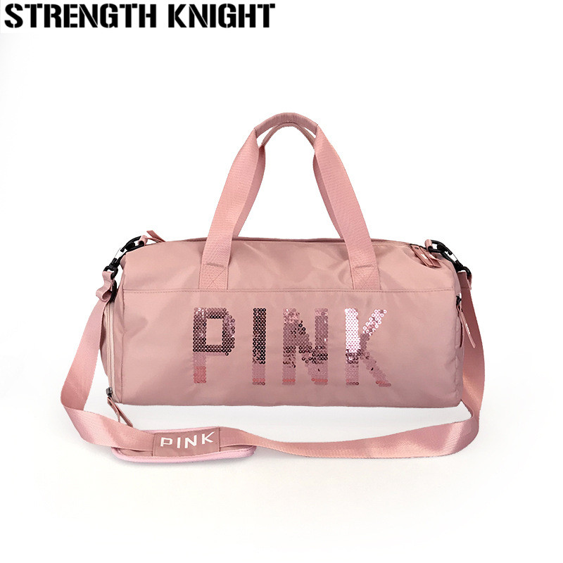 Fashion Travel Bag Large Capacity Hand Sac A Main Luggage Weekend Bags Sequin Ladies Multifunction Travel Duffle Bags For Women