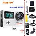 S30A WiFi Действий Камеры Go Pro Hero 4 Style Ultra HD 4 К 20MP Спорт DV Шлем Камеры 30 М Дайвинг Водонепроницаемая Камера Спорта видеокамеры