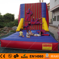 Free Shipping Inflatable Wall Sticky Wall Including 2 suits+1carry bag+1 CE/UL air blower