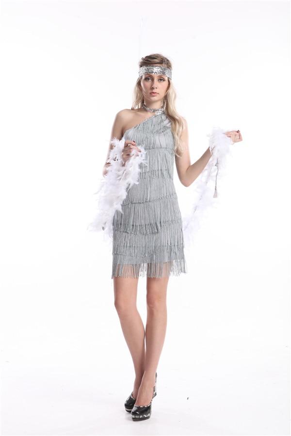 Online Get Cheap Silver Flapper Dresses -Aliexpress.com | Alibaba ...