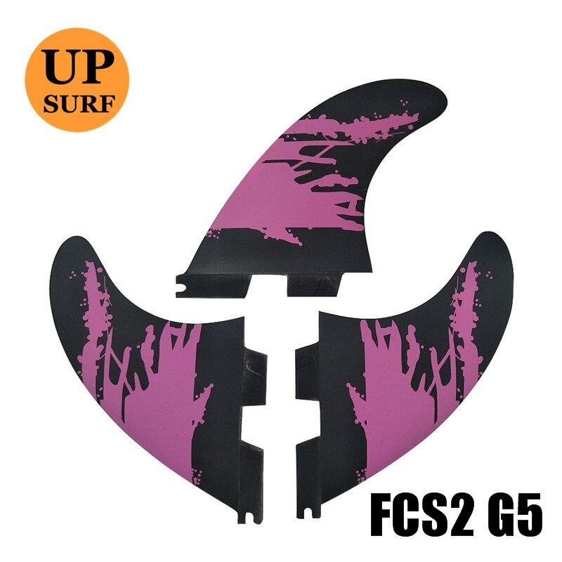 FCSII G5 M Size Surfboard Fins Tri Fin Set FCS 2 Fin Hot Sell FCS II Fin Quilhas
