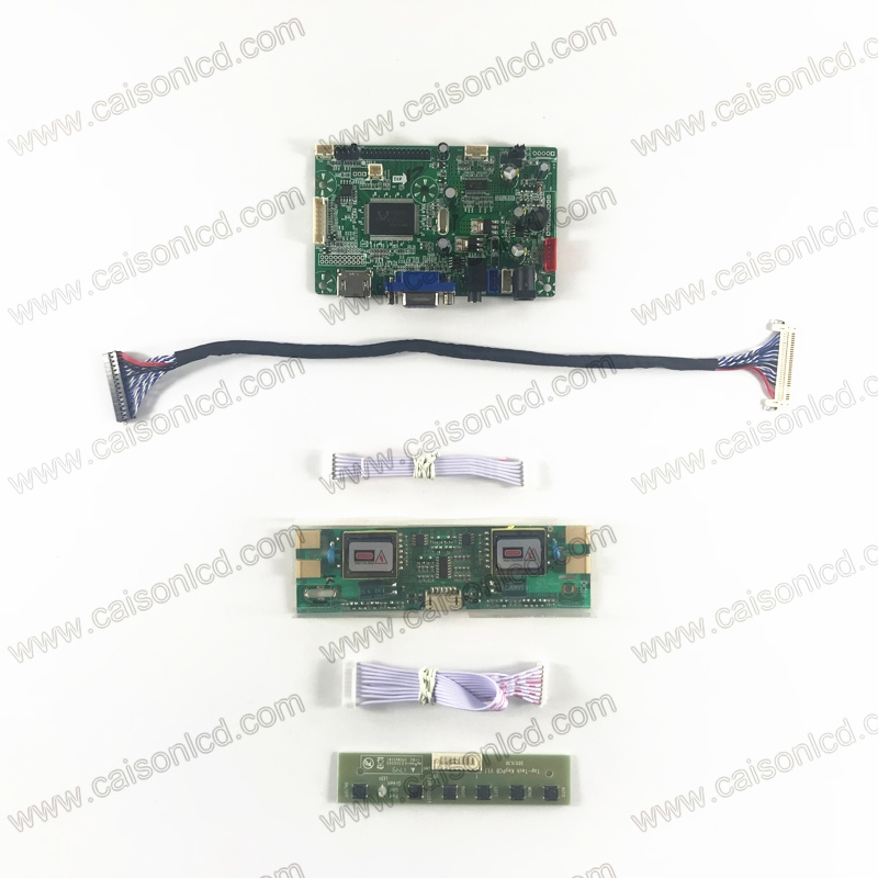 RTD2668 LCD controller board with HDMI VGA Audio for 4-lamp 19 inch 1280X1024 LCD panel M190E5-L0G G190EG01 V2 M190EG01 V0 V2 V3 g190eg01 v 1 g190eg01 v1 lcd display screens