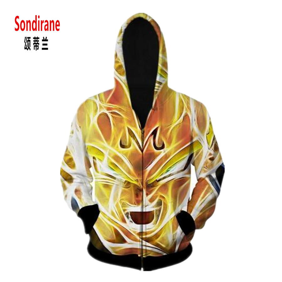 Sondirane New 3D Print Fire Burning Anger Faces Unreal Pattern Hoodies Design Causal Zipper Sweatshirts Fashion Tracksuit Tops