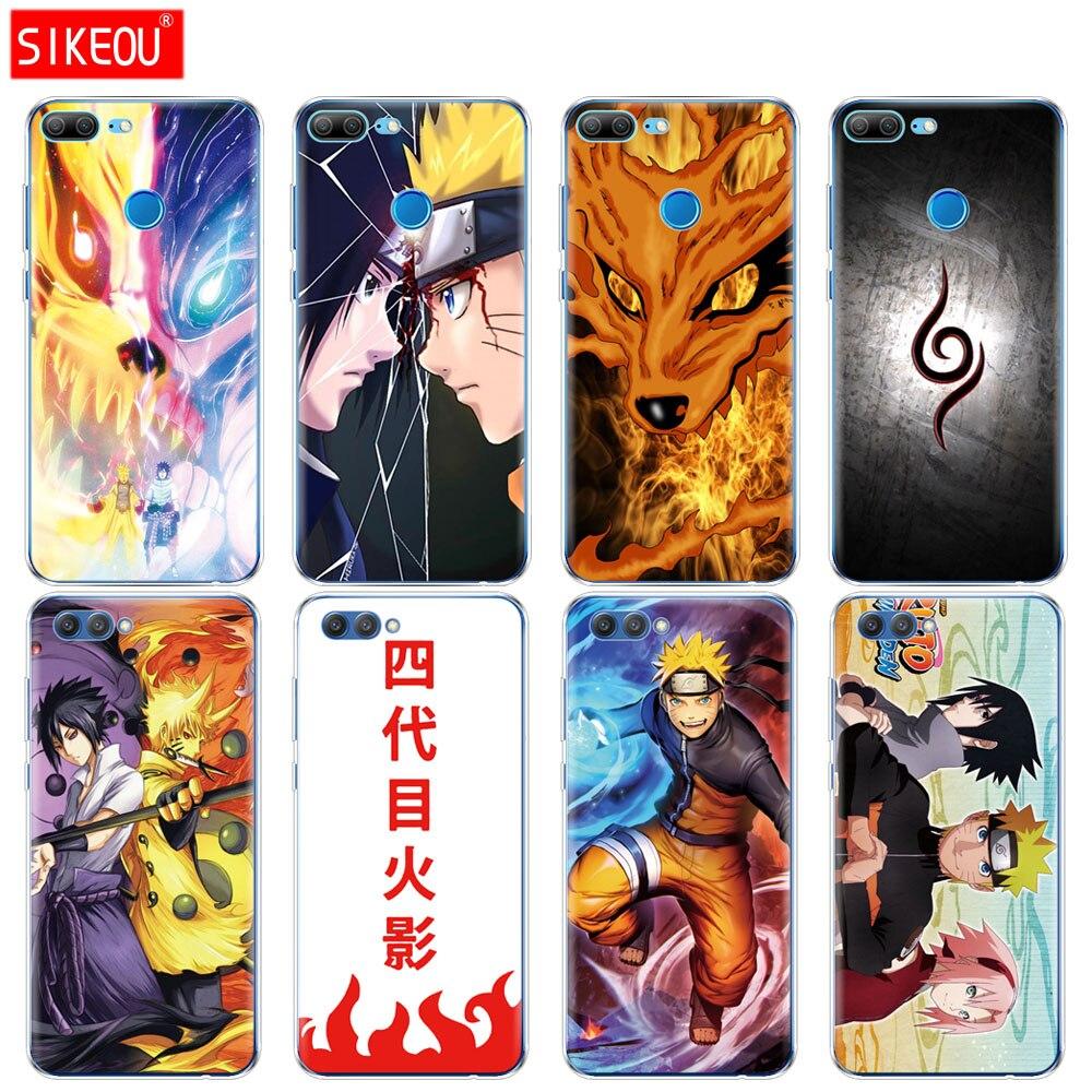 Силиконовый чехол для телефона для huawei <font><b>Honor</b></font> 10 V10 3c 4C 5c 5x 4A 6A 6C pro 6X7X6 7 8 9 LITE Наруто Саске Аниме Yondaime Минато