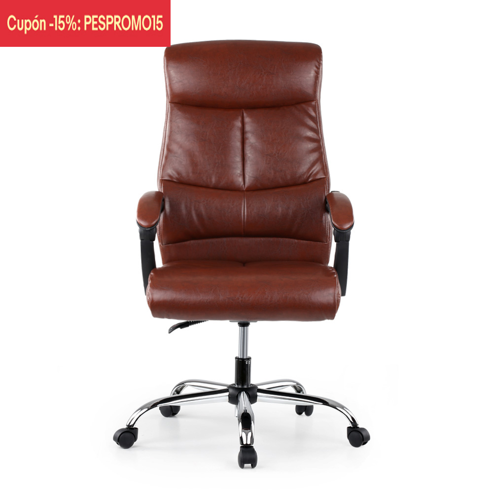 Adjustable Ergonomic PU Leather Executive Office Chair Recliner Luxury High  Back Computer Desk Chair Managerial Chair In Office Chairs From Furniture  On ...