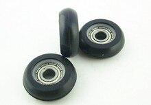 10pieces 695zz pom bearing Shower Door roller runners Wheels plastic pulley