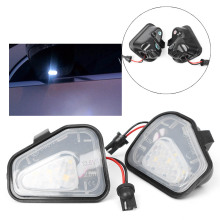 Auto Car Error Free LED Side Mirror Puddle Lights For Vw Volkswagen EOS Passat/4motion/Santana B7 CC Scirocco Automobile Parts