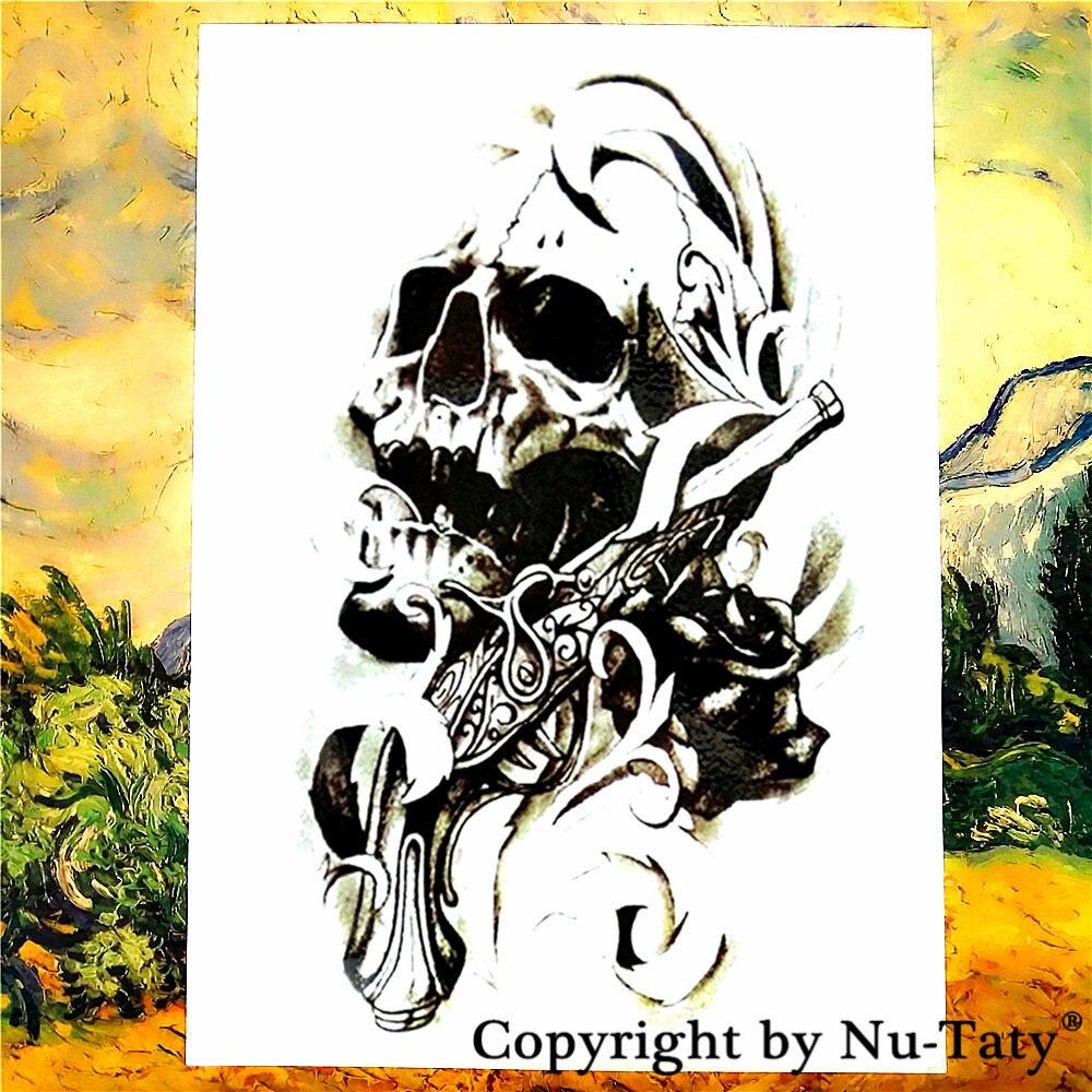 ᐅShnapign esqueleto general tatuaje temporal Cuerpo tatuaje ...
