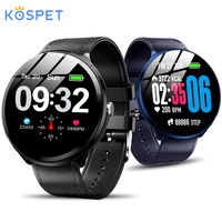 Kospet V12 1.3 Inch Tempered Glass Screen Smart Watch Waterproof Heart Rate Monitoring Blood Pressure For Men Women smartwatch