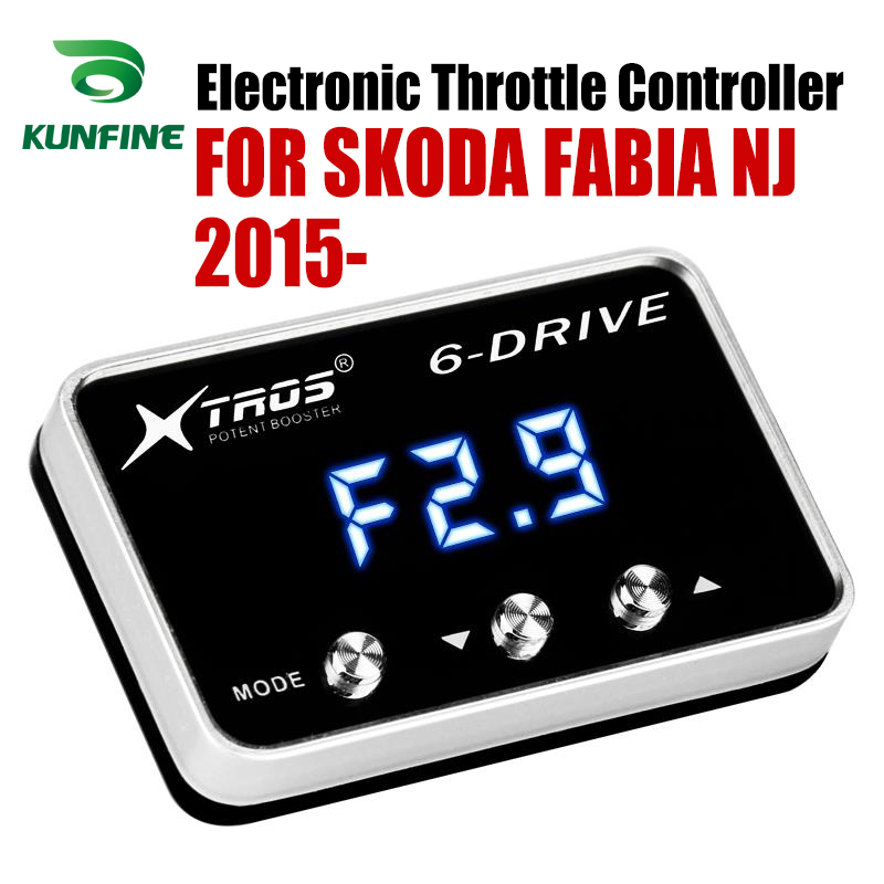 Car Electronic Throttle Controller Racing Accelerator Potent Booster For SKODA FABIA NJ 2015-2019 Tuning Parts Accessory image