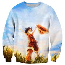 Childhood Luffy Sweatshirt Pullover