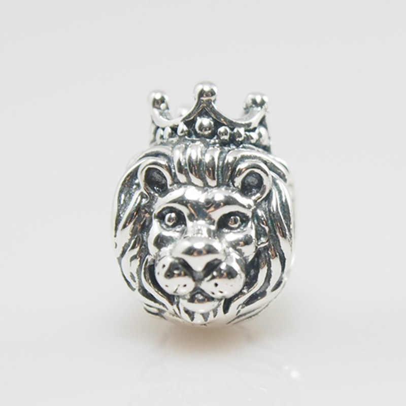 8b05afe0a ... Fits Pandora Charms Bracelet Lion King Charm Bead 925 Sterling Silver  Beads Jewelry Making DIY Bracelets ...