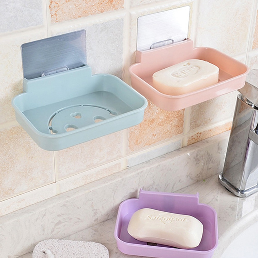 Hot Sale 1 Pc Bathroom Shower Soap Box Dish Storage Plate Tray ...