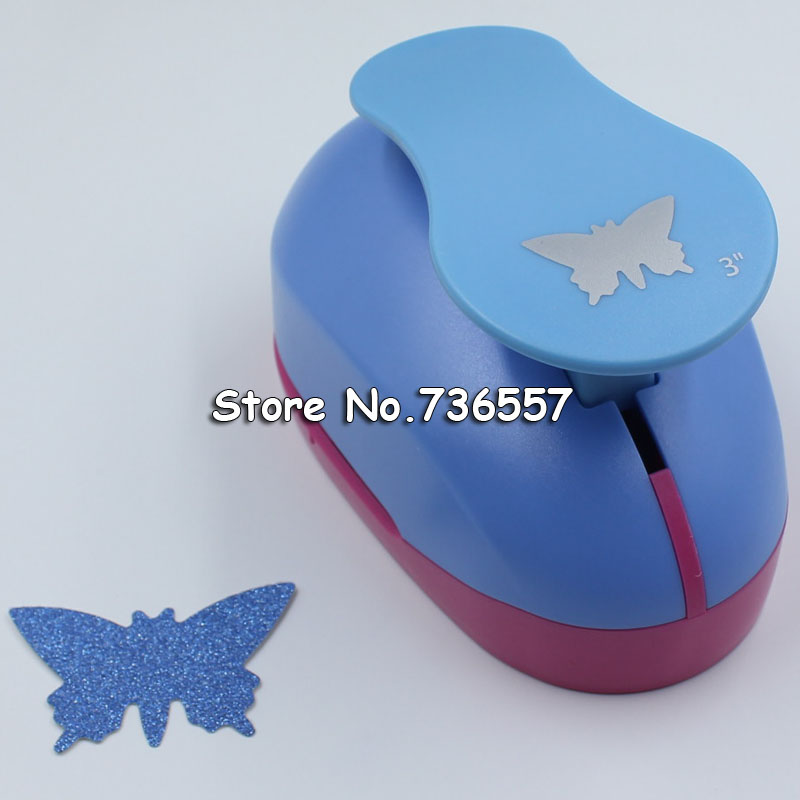 5 Sizes Handmade Crafts Butterfly Scrapbooking Tool Paper Punch Photo Gallery Decoration DIY Gift Card Punches Embossing