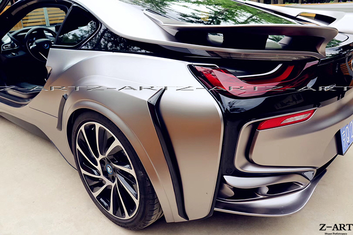 Fit For Bmw I8 Engergy Carbon Fiber Wing Spoiler Tail In Racing