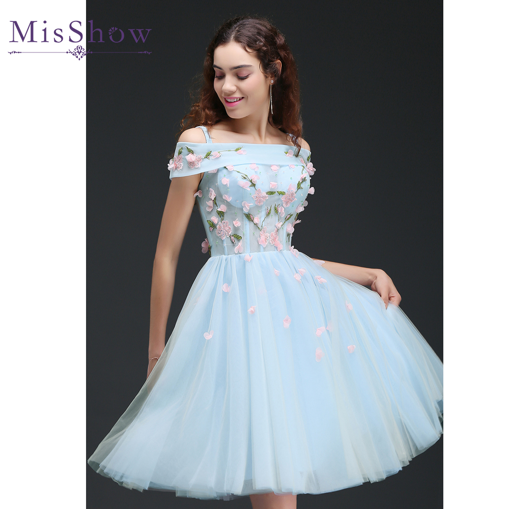 High quality light blue bridesmaid dress buy cheap light blue robe demoiselle dhonneur a line short light blue 2017 modest party wedding prom party ombrellifo Image collections
