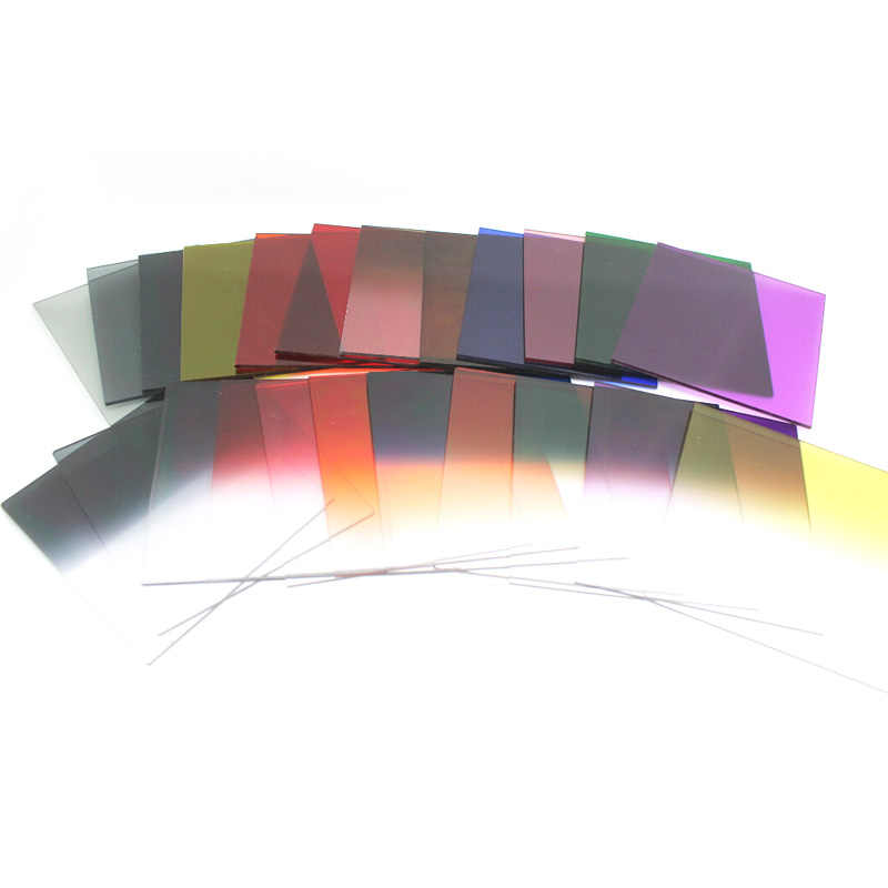 Оптовая продажа Cokin серии P 24 полноцветный фильтр лист зеркала градиентные линзы