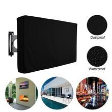 """Уличный ТВ экран пылезащитный чехол черный ЖК-телевизор набор водяная пыль устойчивая защитная сумка 3"""" 42"""" 4"""" 52"""" дюймов"""